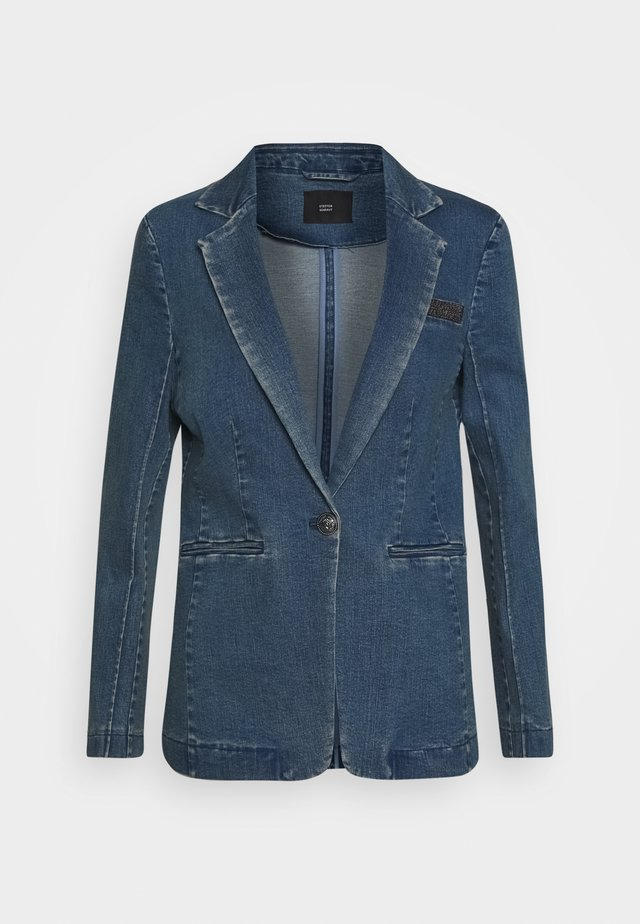 CATSKILLS COUNTRY - Blazer - blue denim