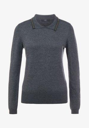 KATE GLAM - Stickad tröja - dark grey
