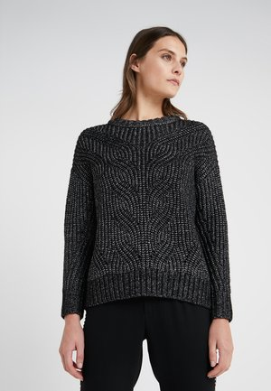 ROCKSTAR GLAM SWEATER - Strickpullover - black