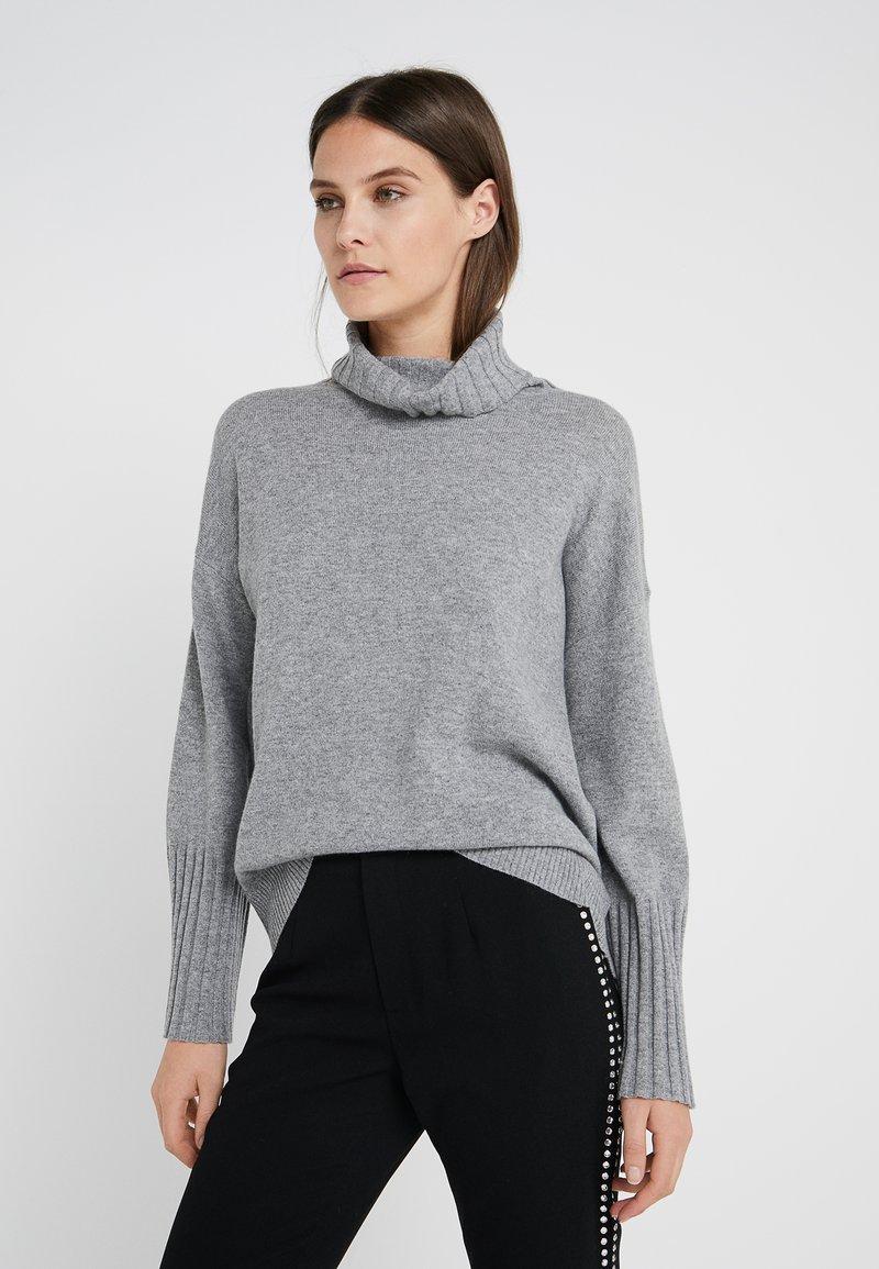 Steffen Schraut - LUXURY WEEKEND ROLL NECK SWEATER - Sweter - light grey