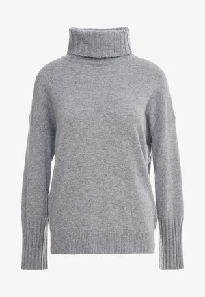 LUXURY WEEKEND ROLL NECK SWEATER - Stickad tröja - light grey