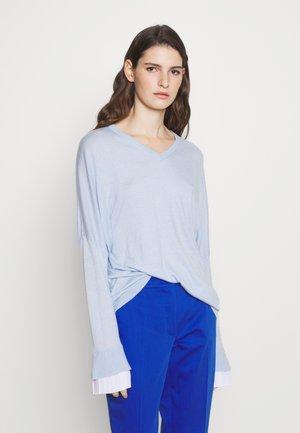 EXCLUSIVE BLOUSE  - Svetr - soft blue