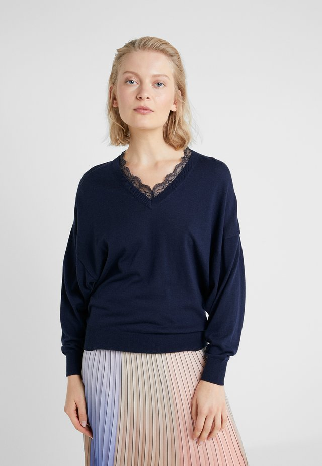 CLAIRE ROMANCE  - Sweter - navy