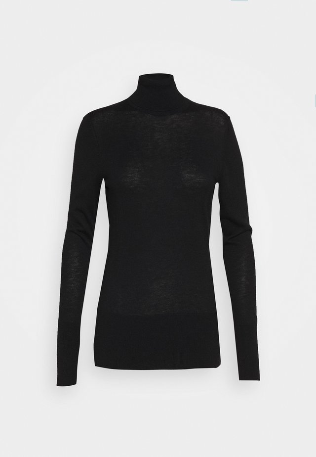 FAVORITE TURTLENECK SPECIAL - Strikkegenser - black