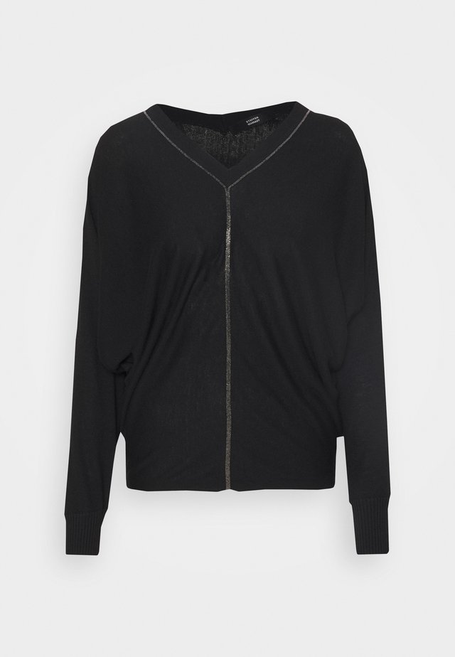 VERONIQUE FANCY  - Jumper - black