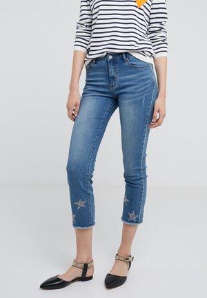 NOTTING HILL STAR PANTS - Jean slim - vintage denim