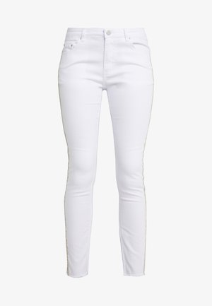 CHERYL GLAM STRIPE PANTS - Džíny Slim Fit - white