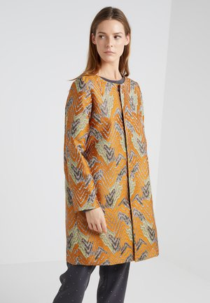 FASHIONISTA GLAM COAT - Manteau classique - orange/multicolor