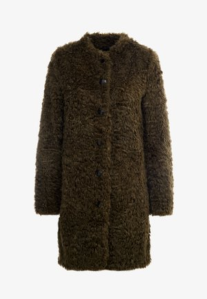 VINTAGE FASHION COAT - Kort kappa / rock - urban green