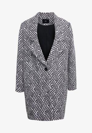 SUMMER JACQUARD COAT - Cappotto corto - black/white