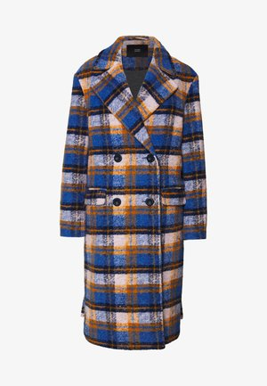 Zimní kabát - sunday check