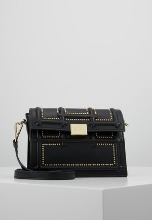 GISELLE - Schoudertas - black/gold