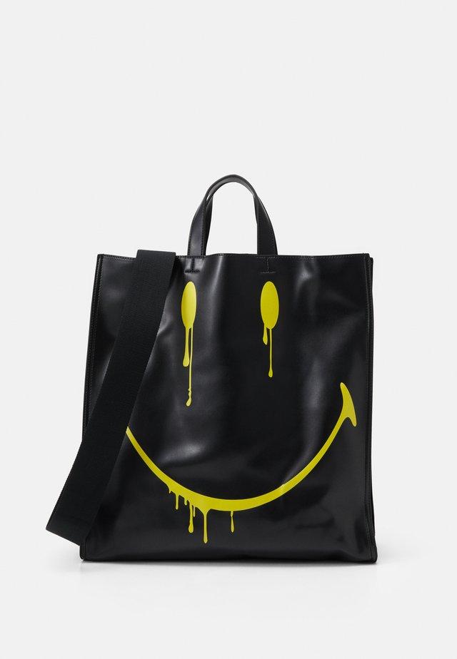 SMUDGE - Tote bag - black/yellow
