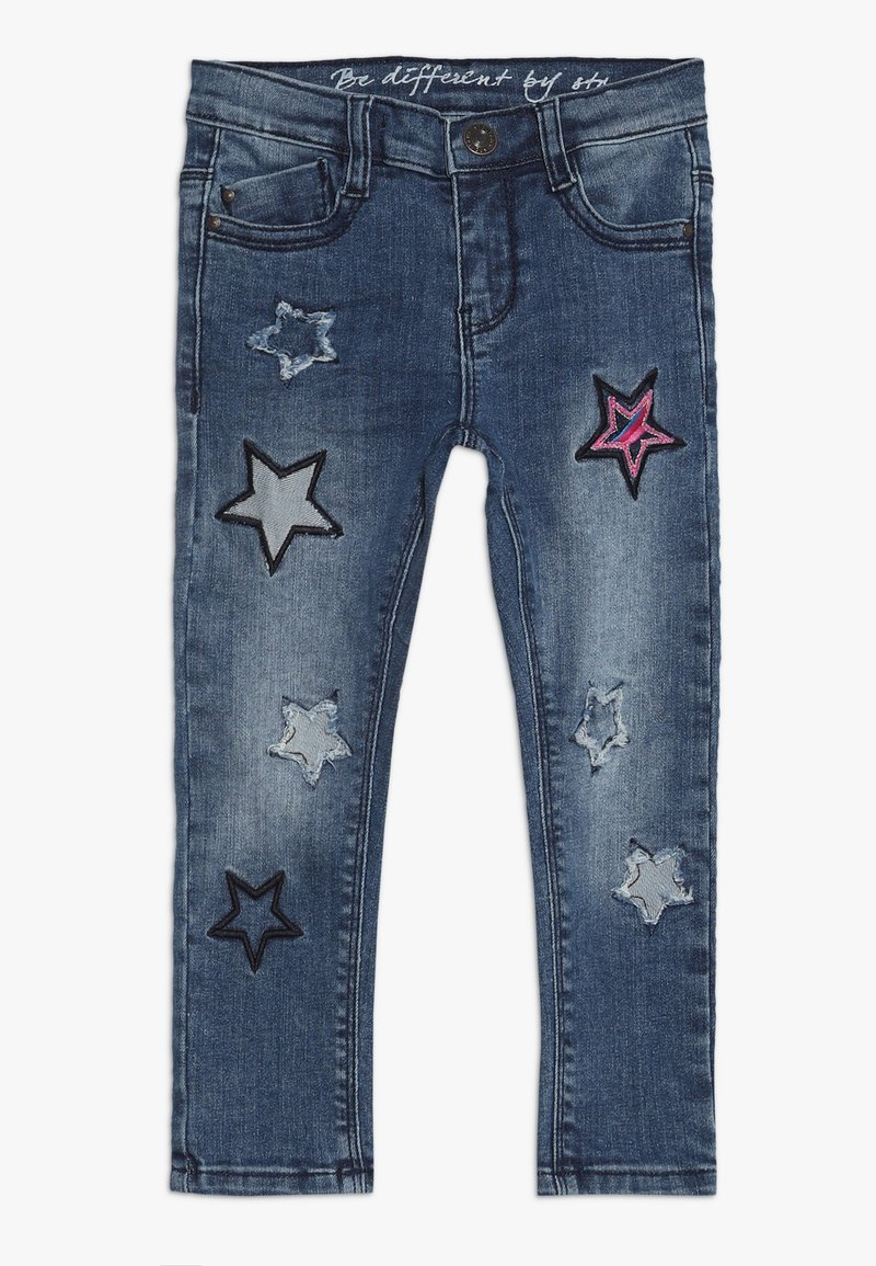 Staccato - KID - Vaqueros pitillo - mid blue denim
