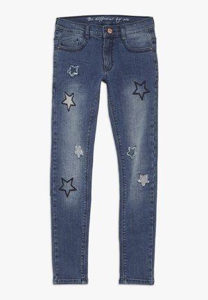 TEENAGER - Skinny džíny - mid blue denim