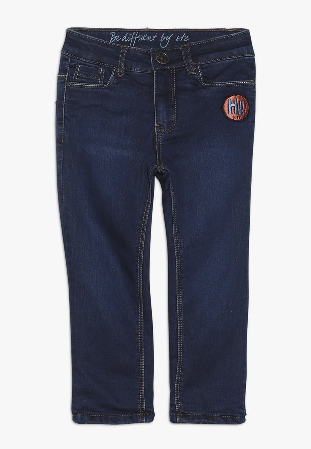 THERMO TEENAGER - Jeans Skinny Fit - mid blue denim