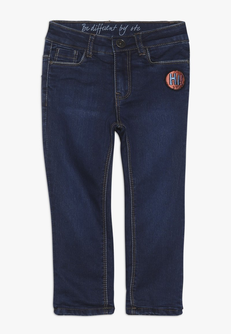 Staccato - THERMO TEENAGER - Skinny džíny - mid blue denim