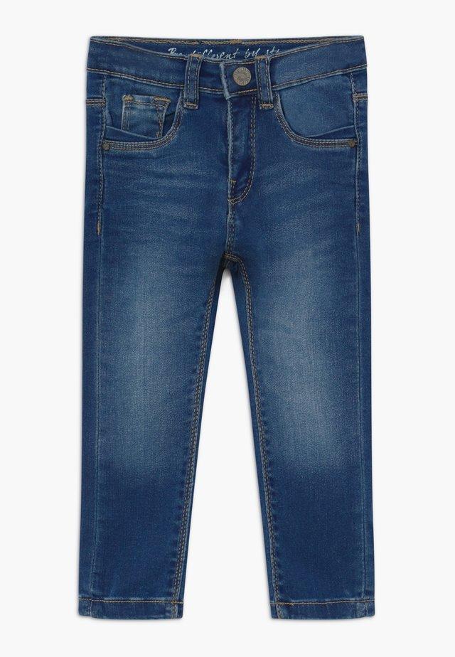 SKINNY KID - Jeans Skinny Fit - mid blue denim