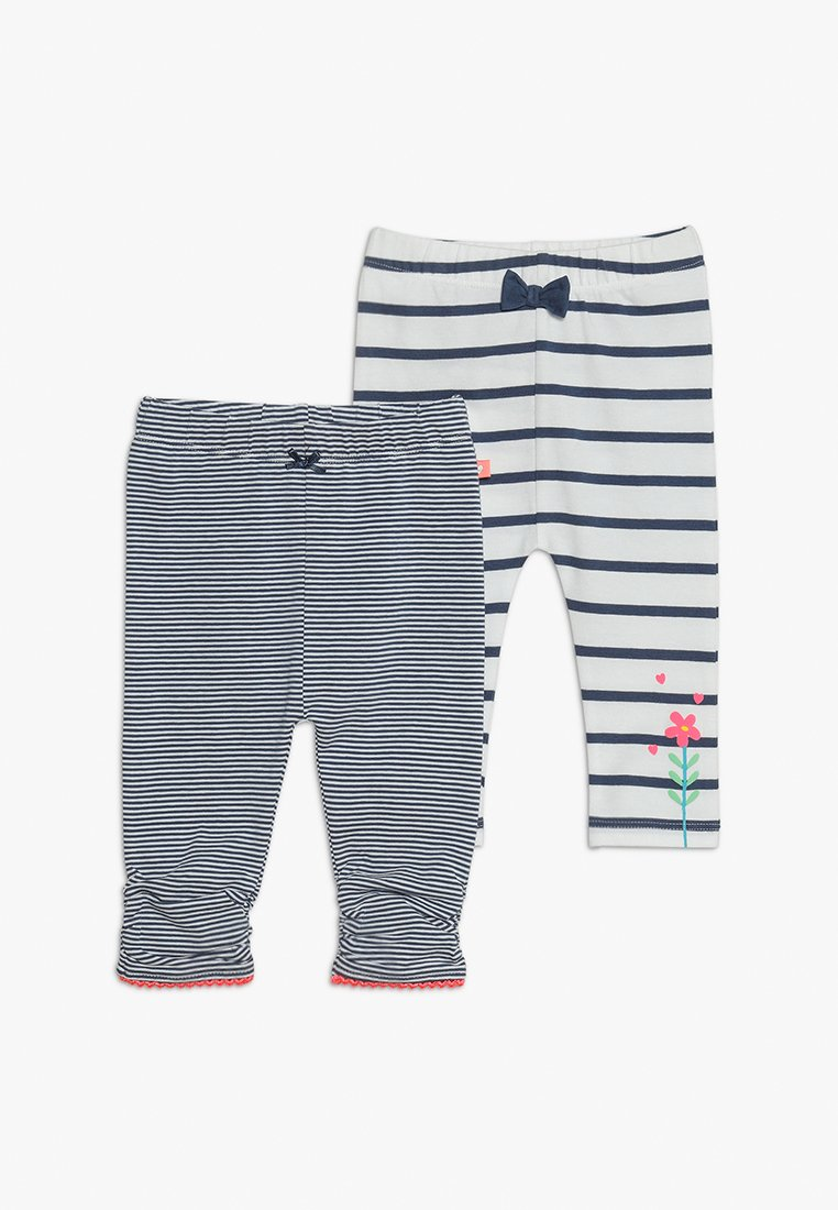 Staccato - 2 PACK - Leggings - Trousers - soft marine