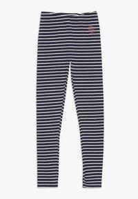 Staccato - STREIFEN KID 2 PACK  - Legging - neon red/dark marine - 2