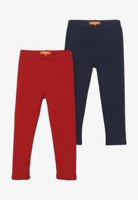 Staccato - KID 2 PACK - Leggings - Trousers - dark marine/bright red - 3