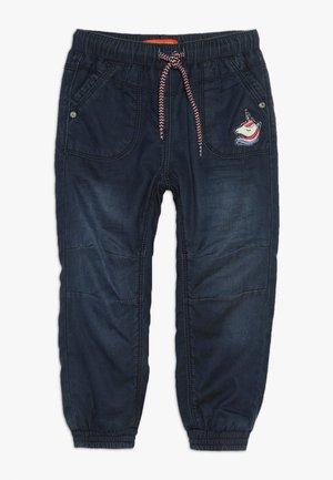 THERMO KID - Kalhoty - mid blue denim