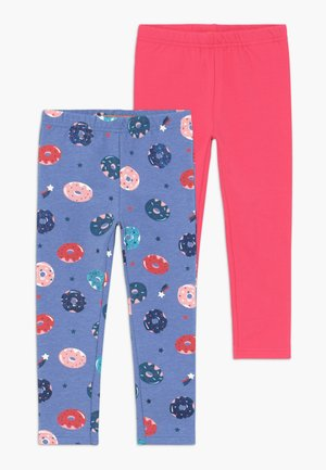 THERMON KID 2 PACK  - Pantaloni sportivi - sky blue shugar red