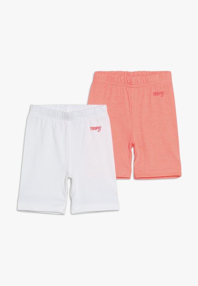 2 PACK  - Shorts - neon peach