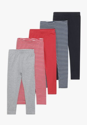 5 PACK - Leggings - Trousers - multi coloured/dark blue/pink