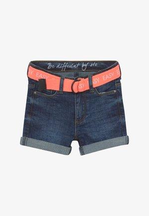 KID - Denim shorts - dark blue denim