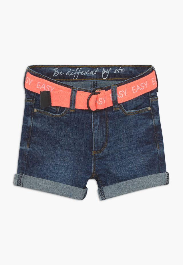 KID - Denim shorts - dark blue denim