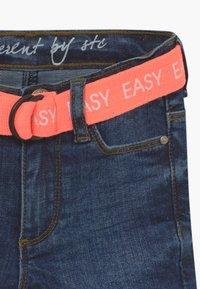 Staccato - KID - Denim shorts - dark blue denim - 4