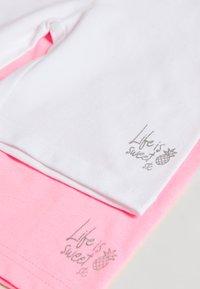 Staccato - RADLER KID 2 PACK - Shorts - pink/white - 3