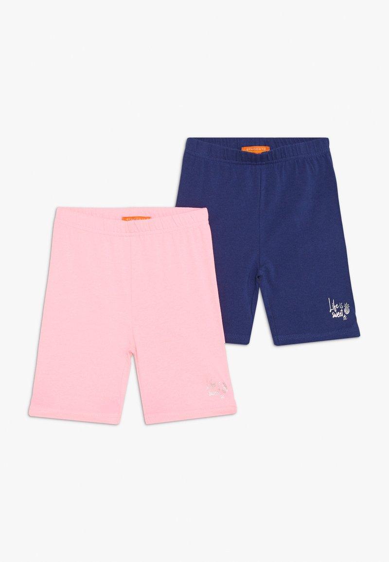Staccato - RADLER KID 2 PACK - Shorts - blau/pink