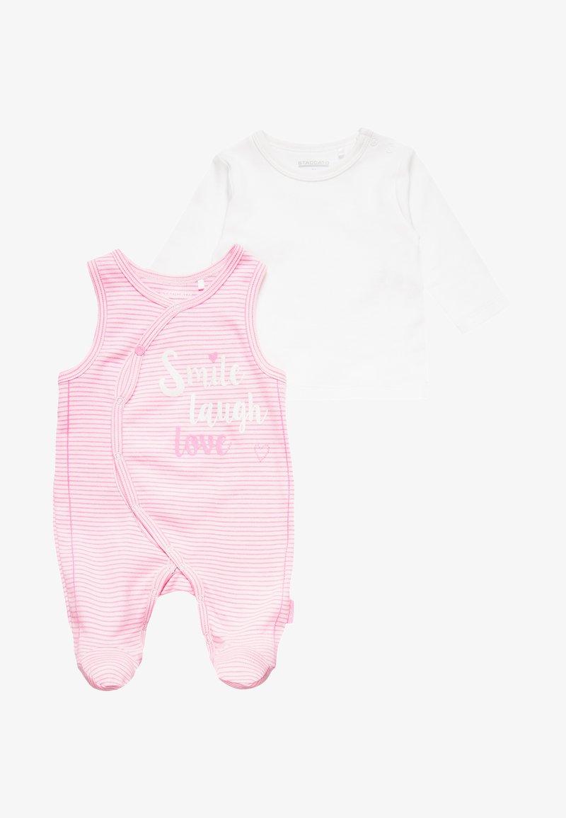 Staccato - BABY SET - Body - rose melange