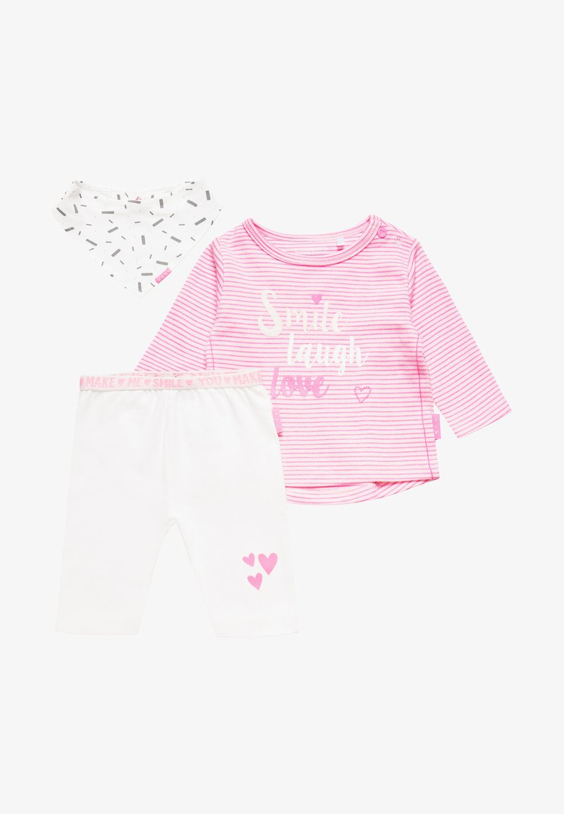 Staccato - BABY SET - Scarf - rose