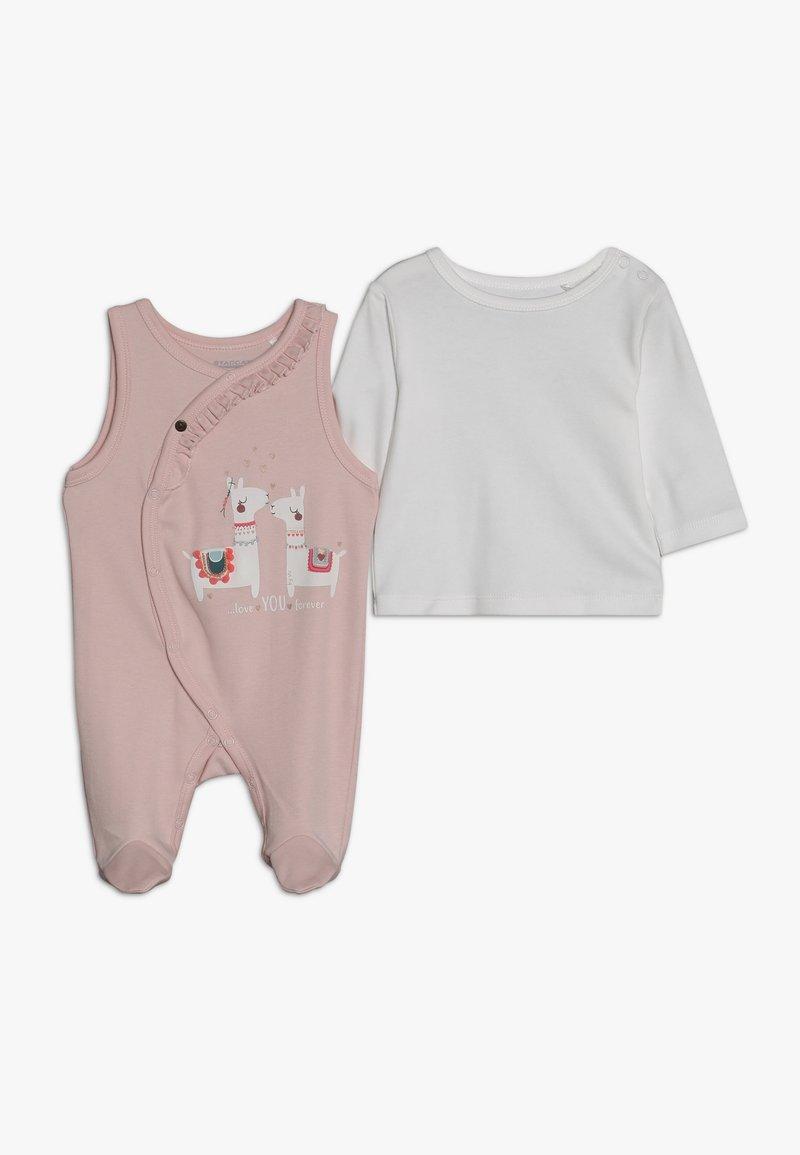 Staccato - BABY SET - Bodystocking - soft blush