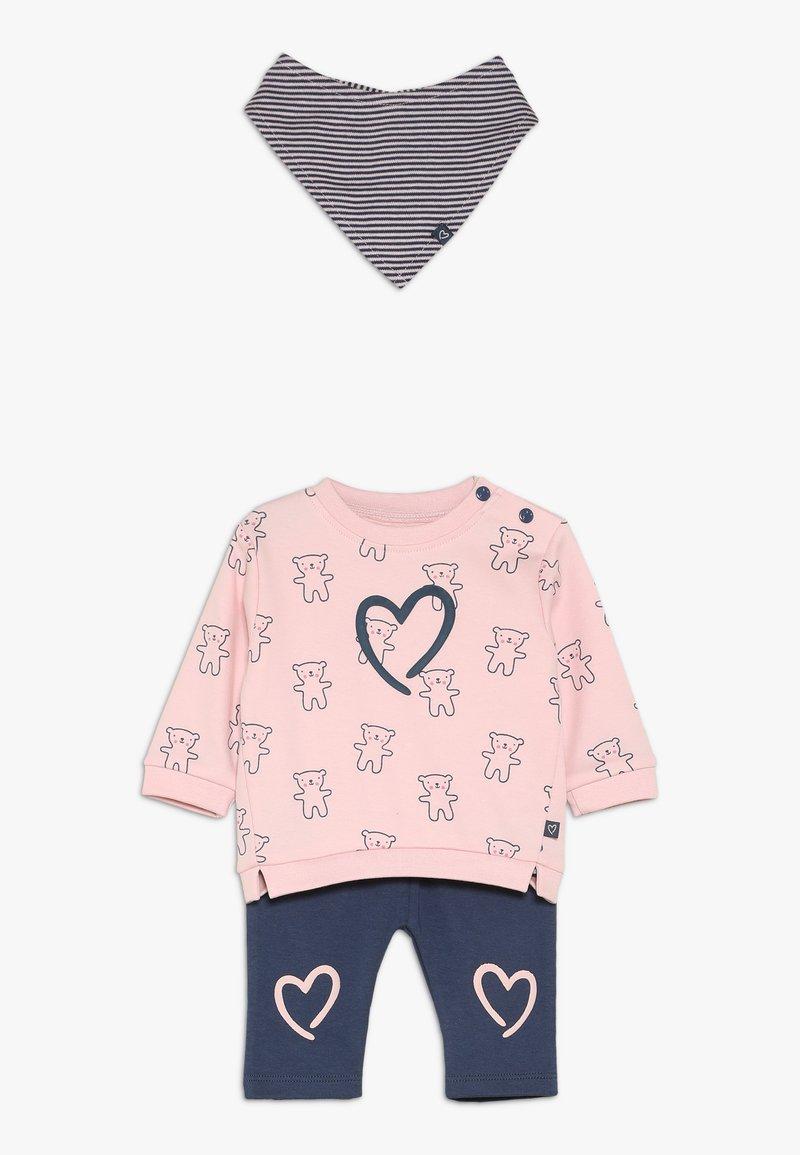 Staccato - WOODLAND BABY SET - Foulard - light pink