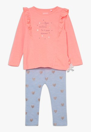 SET BABY - Leggings - Trousers - pink
