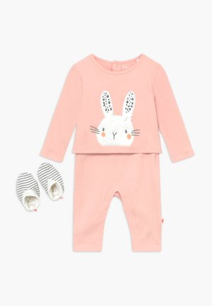 SET - Overall / Jumpsuit - light pink