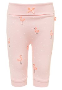 Staccato - LONGSLEEVE PANTS SET - Trousers - soft white/soft peach - 2