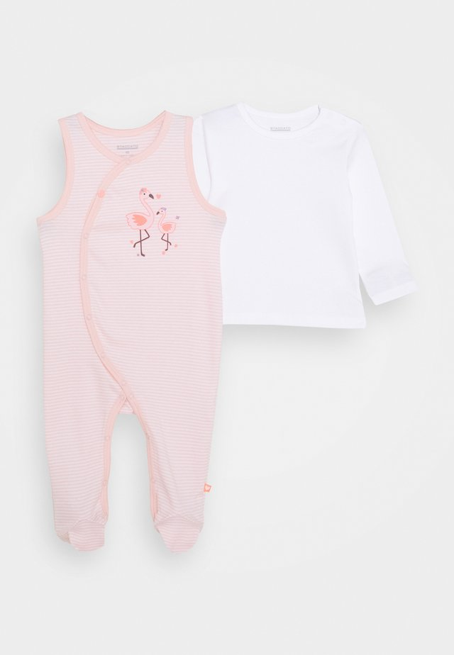 LONGSLEEVE SET - Sleep suit - soft peach