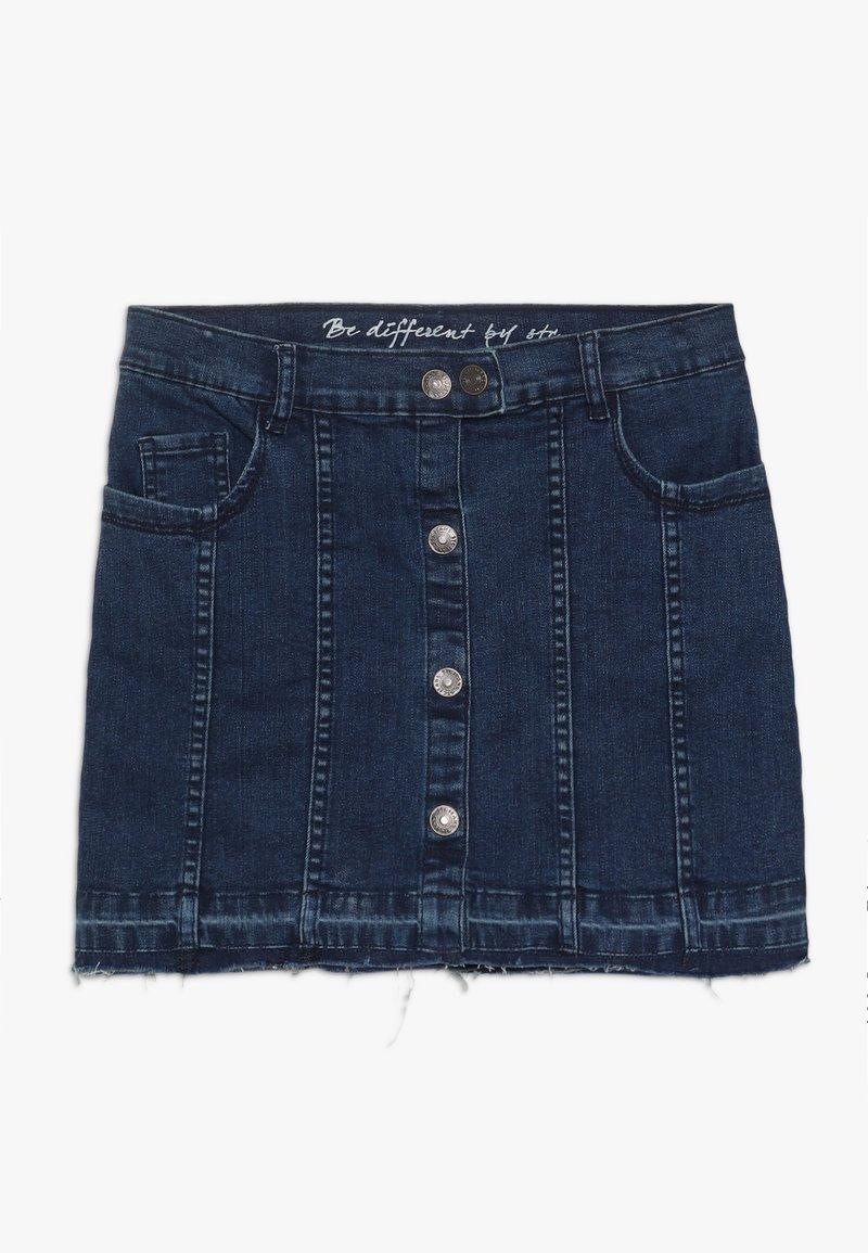 Staccato - TEENAGER - Denimová sukně - mid blue denim