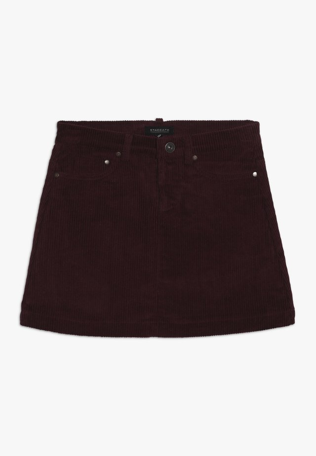 TEENAGER - Mini skirt - berry