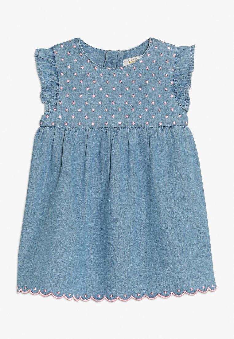 Staccato - BABY - Spijkerjurk - light blue denim