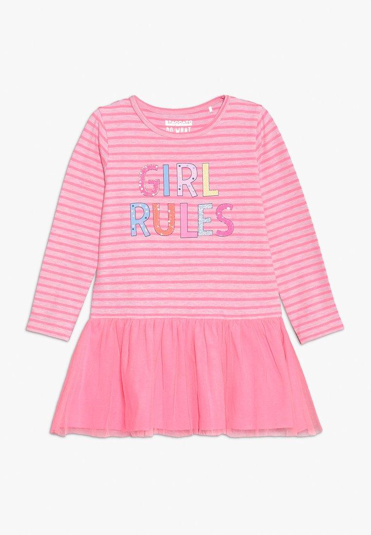 Staccato - Robe en jersey - neon pink