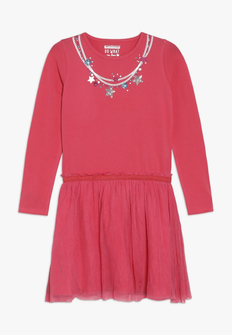 Staccato - Vestito di maglina - sugar red