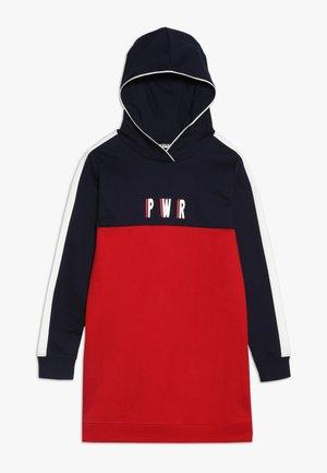 DAY DRESS TEENAGER  - Denní šaty - marine/rot