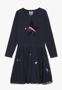 Staccato - Jersey dress - dark marine - 0