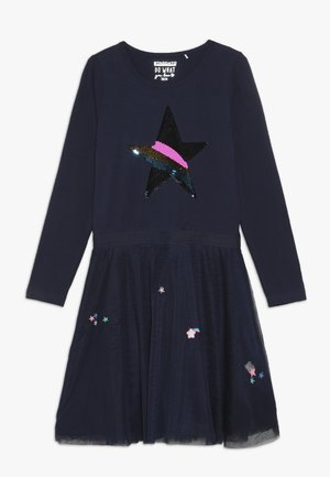 Jersey dress - dark marine